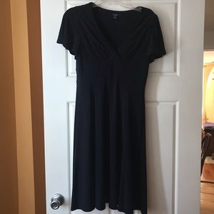 Chaps navy blue dress
